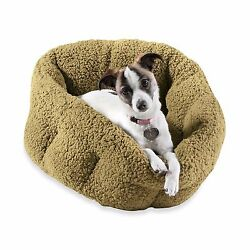 Orthopedic Indoor Outdoor Sherpa Dog Cat Pet House Plush Cozy Warm Comfort Bed