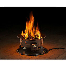 New Heininger Outland 5995 BTU Portable Propane Outdoor Fire Pit Free Shipping