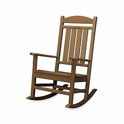 Teak Outdoor Home Garden Yard Patio Veranda Porch Deck Pool Rocker Rocking Chair