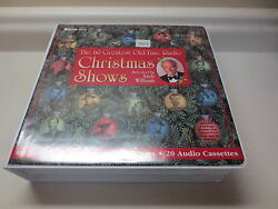 The 60 Greatest Old-time Radio Christmas Shows  by Andy Williams 20 cassettes