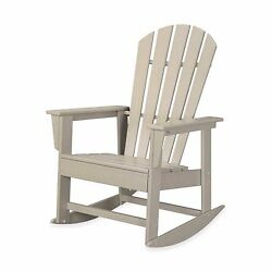 Sand Home Outdoor Yard Garden Veranda Porch Patio Pool Deck Rocker Rocking Chair