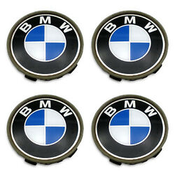 Center Caps BMW 323 318 325 525 OEM Hubcaps Wheel FREE SHIPPING Set of 4