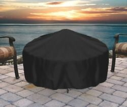 Sunnydaze Durable Weather Resistant Round Fire Pit Cover - Options