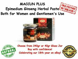 MACCUN PLUS Epimedium Ginseng Herbal Paste Horny Goat Weed Enhancer Aphrodisiac