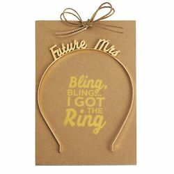 Mud Pie 4485015 Future Mrs. Headband $9.00