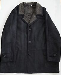 BLUE DUCK Brown SPANISH MERINO MICRO SHEARLING Coat Jacket 4XLT USA