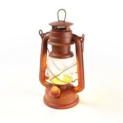 Classic Looking Cabin Lantern LED with flickering flame 100 Lumen Camping too $31.94