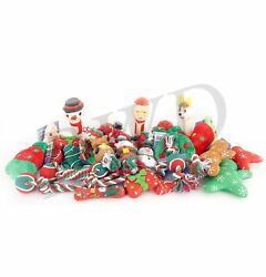 10 x Christmas Dog Toys Squeaky Plush and Rope Toys for Pet Puppy Gift GBP 13.99