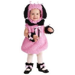 Poodle Costume Baby Puppy Dog Halloween Fancy Dress $27.83