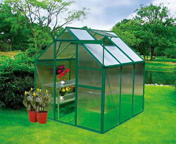 Earthcare Basic 6 x 6 Greenhouse Garden Kit