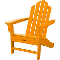 Hanover HVLNA15TA All-Weather 38-12 Inch Tall Polywood Outdoor Adirondack Chair