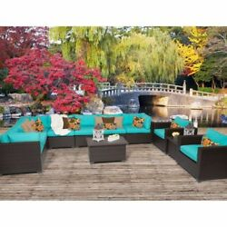 Miseno BELLE-11a-ARUBA Anabelle 11-Piece Outdoor Furniture Sets and Club Chairs