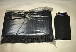 Black Can Cooler Huggie Blank Lot 25 Party Sleeves Wedding Summer Free Ship $13.50