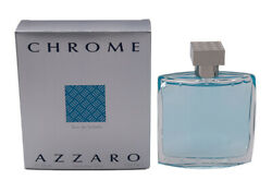 Chrome by Azzaro 3.4 oz EDT Cologne for Men New In Box $29.22