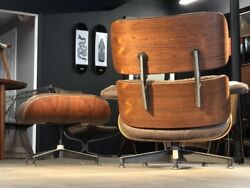 Authentic Herman Miller Eames Lounge Chair And Ottoman  Restoration Available