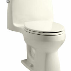 Kohler K-3810-47 Santa Rosa 1-Piece Elongated Bowl Toilet 3810 Series