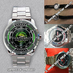 Guild Wars 2 Heart of Thorns Game Logo Custom Unisex Watches