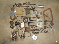 DKW LOT OF OLD PARTS FOR MOTO . BOX 34 $175.00