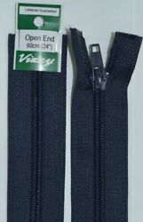 Vizzy Open End Zip 60cm Colour 59 NAVY A Quality Brand Name Zipper