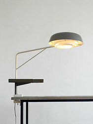 1950  Robert Mathieu for Lancel Agrafée Clamp Desk Lamp  Guariche Sarfatti