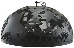 Fire Dome Spark Screen Firepit Cover Patio Heating Outdoor Portable Accessory