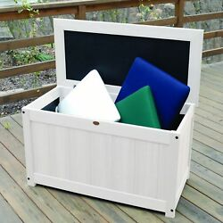 Deck Storage Chest Box Organizer Greenhouse Yard Outdoor King Size Table Top