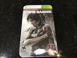 XBOX 360 TOMB RAIDER COLLECTOR'S EDITION! INCLUDES PLAY ARTS KAI LARA CROFT!