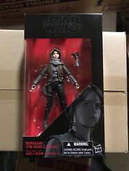 Sergeant Jyn Erso Jedha #22 Star Wars Black Series 6quot; Rogue One Mint In Box New $8.99