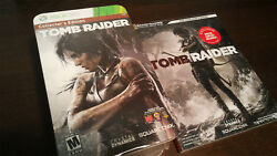 Tomb Raider (Xbox 360) - Collector's Edition [NEWSEALED] + Strategy Guide