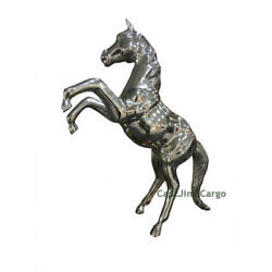 Large Rearing Horse Statue Figurine 35