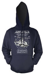 Airwolf Tv Series Military Helicopter Adult Hoodie GBP 16.99