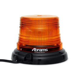 Abrams StarEye 4quot; Inch Dome 12 LED Magnet Permanent Mount Beacon $118.00