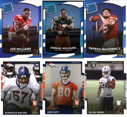 2017 Panini Donruss Football RC and Rated Rookies Choose Card ##x27;s 301 400 $0.99