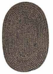 Softex Check CX15 Soft Indoor & Outdoor Braided Navy Check Reversible Rug