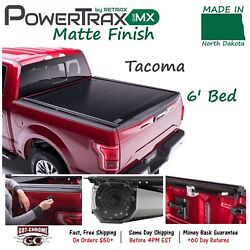 70852 PowerTraxONE MX Retractable Tonneau Cover Toyota Tacoma 6' Bed 2016-2018