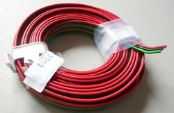 RED BLACK GREEN 3 Conductor 22 Gauge Stranded Copper Wire 16#x27; Roll HOBBY $5.49