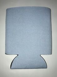 Placid Blue Can Cooler Huggie Blank Lot 25 Party Sleeves Wedding Fun Free Sh $13.50