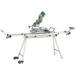 Portable Fold Up Folding Work Support Stand for Miter Chop Saw Tool Sliding
