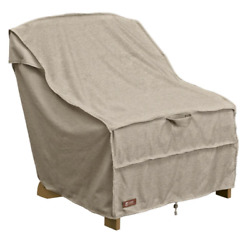 Patio Chair Cover Montlake Adirondack Elegant Understated Style Durable Gray