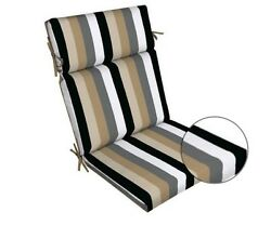 Stripe Replacement Patio Chair Cushion Outdoor Furniture Dining Pads Yard Pads
