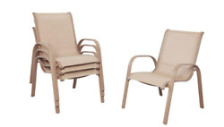 Patio Dining Chairs Westin Commercial Contract Grade Sling Uv Protected 4 Pack