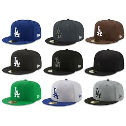 Los Angeles Dodgers LAD MLB Authentic New Era 59FIFTY Fitted Cap - 5950 Hat