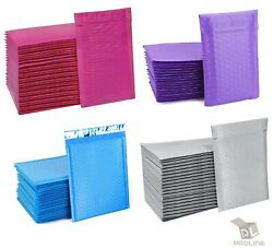 ANY SIZE POLY BUBBLE MAILERS SHIPPING MAILING PADDED BAGS ENVELOPES COLOR $25.64