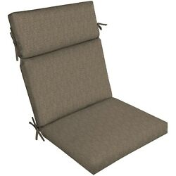 Brown Patio Dining Chair Cushion Outdoor Deck Replacement Cushions Seat Thick