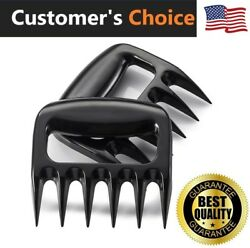US Meat Shredder Grill Smoker Bear Paw Meat Claws BBQ Grill Meat Handler Forks