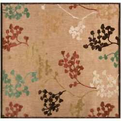 Surya PRT1011-8812 Portera 9'x12' Polypro. Loomed Floral Outdoor Rug