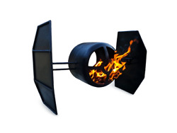Build your own Star Wars Fighter Themed Fire Pit (DIY Plans) Fun to build!!