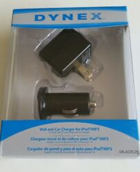 Wall and Car Charger for Phones USB Connection NEW FREE SHIP $5.99