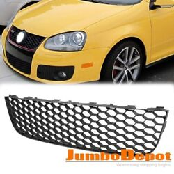 US 1X Front Bumper Lower Center Grille Honeycomb Mesh For 06 09 VW Jetta GLI GTI $21.99