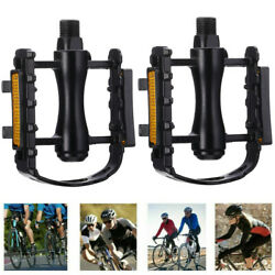 9 16quot; Bicycle Bike Pedals Flat Aluminum Sealed Bearing For Mountain MTB Road BMX $10.29